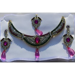 Ensemble collier Bollywood
