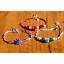 Bracelet sur fil
