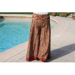 Sarouel ou pantalon jupe