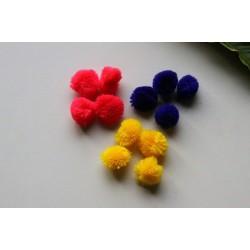 Petits pompons, 2 couleurs