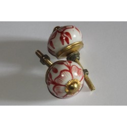 Bouton de porte en céramique petit