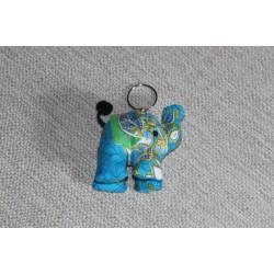 Porte clé anneau éléphant