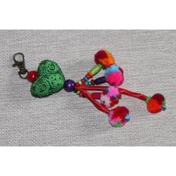 Porte clé mousqueton