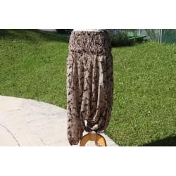 Pantalon coton léger.