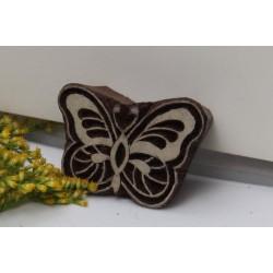 Tampon batik fleur
