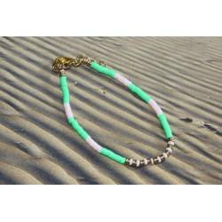 Bracelet réglable perles...