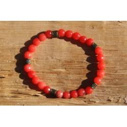 Bracelet élastique agates