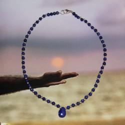 Collier Lapis Lazuli et argent