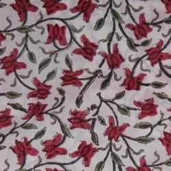 Tissu Voile coton batik.