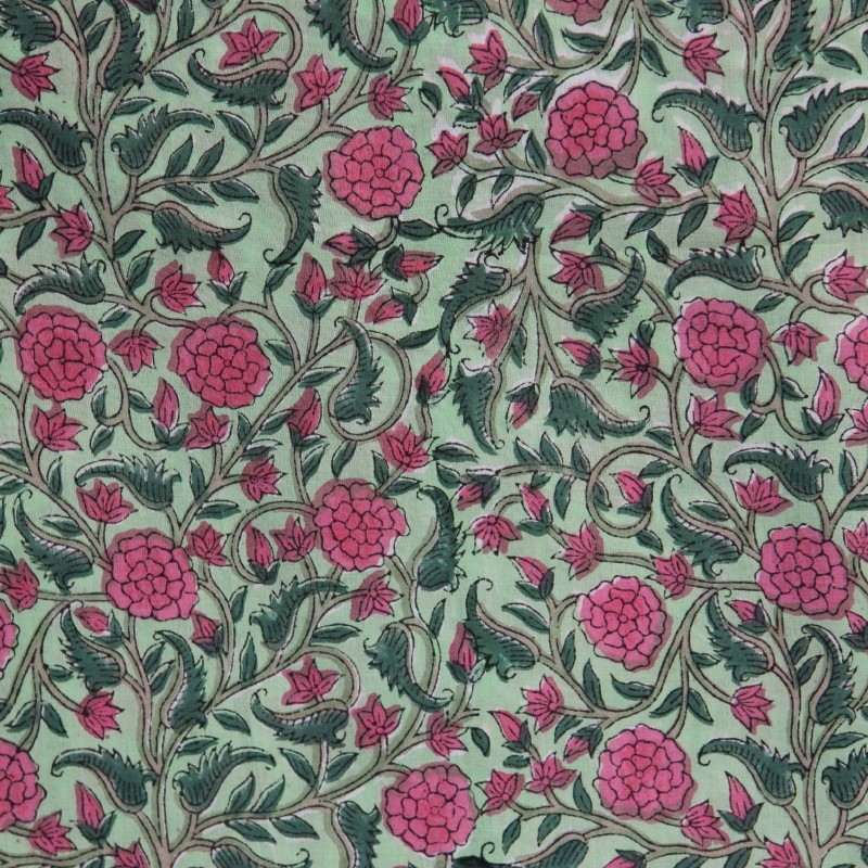 Tissu coton batik.