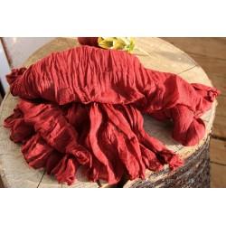 Echarpe indienne en coton