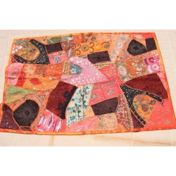 Patchwork indien orange