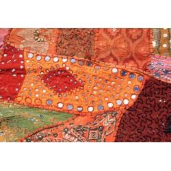 Patchwork indien orange