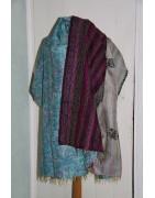 Accessoires, sarees -  Echarpe, plaid, paréo - Echarpe soie - Ethnique Création