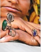 Bagues en argent - Bijoux indiens - Ethnique création