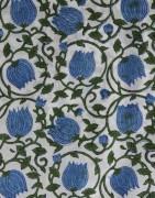 Voile de coton batik   - Tissu indien - Ethnique Création