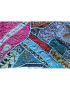 Tenture patchwork indien - Décoration ethnique - Ethnique Création