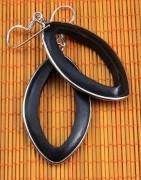 Boucles d'oreille bois - Boucles d'oreille - Ethnique Création